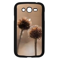Withered Globe Thistle In Autumn Macro Samsung Galaxy Grand Duos I9082 Case (black) by wsfcow