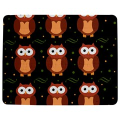Halloween brown owls  Jigsaw Puzzle Photo Stand (Rectangular) by Valentinaart