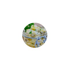 Potato Salad In A Jar On Wooden 1  Mini Buttons by wsfcow