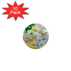 Potato Salad In A Jar On Wooden 1  Mini Magnet (10 Pack)  by wsfcow