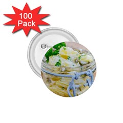 Potato Salad In A Jar On Wooden 1 75  Buttons (100 Pack)  by wsfcow