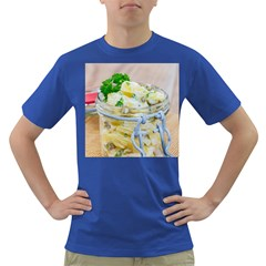 Potato Salad In A Jar On Wooden Dark T Shirt by wsfcow