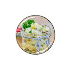 Potato salad in a jar on wooden Hat Clip Ball Marker by wsfcow