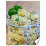 Potato salad in a jar on wooden Canvas 36  x 48