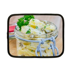 Potato Salad In A Jar On Wooden Netbook Case (small)  by wsfcow