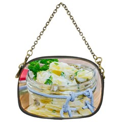 Potato Salad In A Jar On Wooden Chain Purses (one Side)  by wsfcow