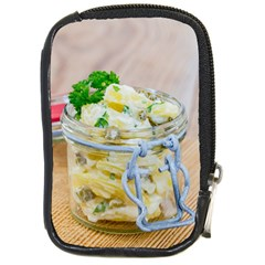 Potato Salad In A Jar On Wooden Compact Camera Cases by wsfcow