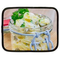 Potato Salad In A Jar On Wooden Netbook Case (xxl)  by wsfcow