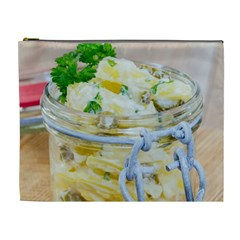 Potato Salad In A Jar On Wooden Cosmetic Bag (xl) by wsfcow