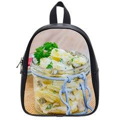 Potato Salad In A Jar On Wooden School Bags (small)  by wsfcow