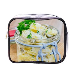 Potato Salad In A Jar On Wooden Mini Toiletries Bags by wsfcow