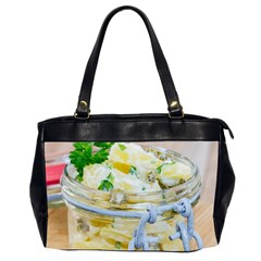 Potato Salad In A Jar On Wooden Office Handbags (2 Sides)  by wsfcow