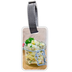 Potato Salad In A Jar On Wooden Luggage Tags (two Sides) by wsfcow