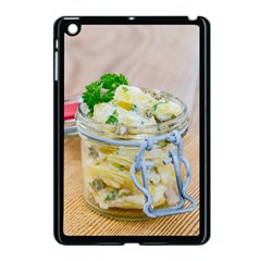 Potato Salad In A Jar On Wooden Apple Ipad Mini Case (black) by wsfcow