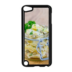 Potato Salad In A Jar On Wooden Apple Ipod Touch 5 Case (black) by wsfcow