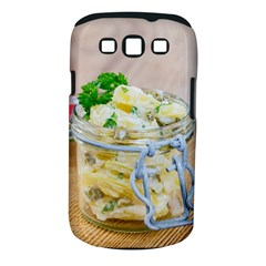 Potato Salad In A Jar On Wooden Samsung Galaxy S Iii Classic Hardshell Case (pc+silicone) by wsfcow