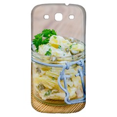 Potato Salad In A Jar On Wooden Samsung Galaxy S3 S Iii Classic Hardshell Back Case by wsfcow