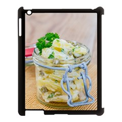 Potato Salad In A Jar On Wooden Apple Ipad 3/4 Case (black) by wsfcow