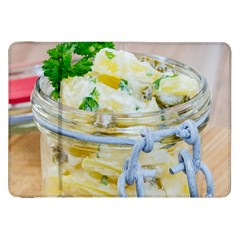 Potato Salad In A Jar On Wooden Samsung Galaxy Tab 8 9  P7300 Flip Case by wsfcow
