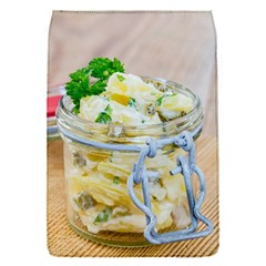 Potato Salad In A Jar On Wooden Flap Covers (s)  by wsfcow
