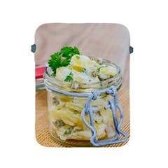 Potato Salad In A Jar On Wooden Apple Ipad 2/3/4 Protective Soft Cases by wsfcow