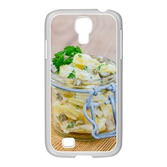 Potato Salad In A Jar On Wooden Samsung Galaxy S4 I9500/ I9505 Case (white) by wsfcow