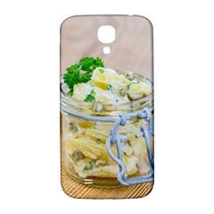 Potato Salad In A Jar On Wooden Samsung Galaxy S4 I9500/i9505  Hardshell Back Case by wsfcow