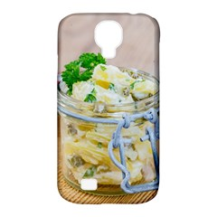 Potato Salad In A Jar On Wooden Samsung Galaxy S4 Classic Hardshell Case (pc+silicone) by wsfcow