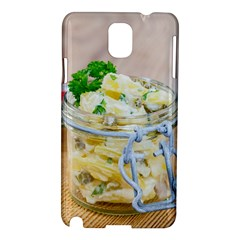 Potato Salad In A Jar On Wooden Samsung Galaxy Note 3 N9005 Hardshell Case by wsfcow
