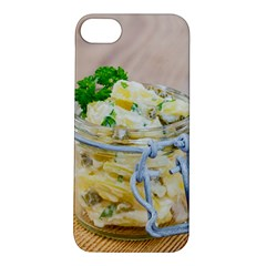 Potato Salad In A Jar On Wooden Apple Iphone 5s/ Se Hardshell Case by wsfcow