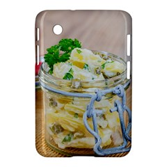 Potato Salad In A Jar On Wooden Samsung Galaxy Tab 2 (7 ) P3100 Hardshell Case  by wsfcow