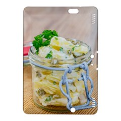 Potato Salad In A Jar On Wooden Kindle Fire Hdx 8 9  Hardshell Case by wsfcow