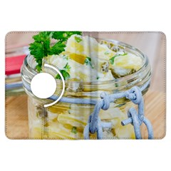 Potato Salad In A Jar On Wooden Kindle Fire Hdx Flip 360 Case by wsfcow