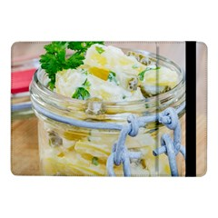 Potato Salad In A Jar On Wooden Samsung Galaxy Tab Pro 10 1  Flip Case by wsfcow