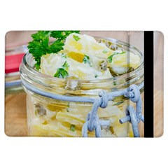 Potato Salad In A Jar On Wooden Ipad Air Flip by wsfcow