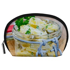 Potato Salad In A Jar On Wooden Accessory Pouches (large)  by wsfcow