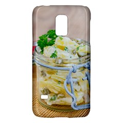 Potato Salad In A Jar On Wooden Galaxy S5 Mini by wsfcow