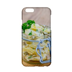 Potato Salad In A Jar On Wooden Apple Iphone 6/6s Hardshell Case by wsfcow