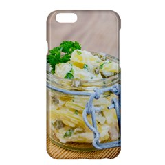 Potato Salad In A Jar On Wooden Apple Iphone 6 Plus/6s Plus Hardshell Case by wsfcow