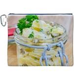 Potato salad in a jar on wooden Canvas Cosmetic Bag (XXXL)