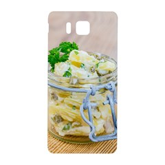 Potato Salad In A Jar On Wooden Samsung Galaxy Alpha Hardshell Back Case by wsfcow