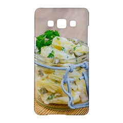Potato Salad In A Jar On Wooden Samsung Galaxy A5 Hardshell Case  by wsfcow