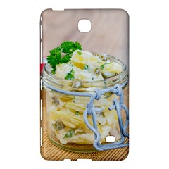 Potato Salad In A Jar On Wooden Samsung Galaxy Tab 4 (7 ) Hardshell Case  by wsfcow