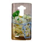 Potato salad in a jar on wooden LG G4 Hardshell Case
