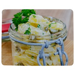 Potato Salad In A Jar On Wooden Jigsaw Puzzle Photo Stand (rectangular) by wsfcow
