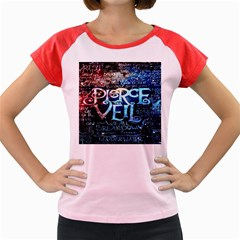 Pierce The Veil Quote Galaxy Nebula Women s Cap Sleeve T Shirt by Onesevenart