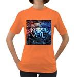 Pierce The Veil Quote Galaxy Nebula Women s Dark T-Shirt