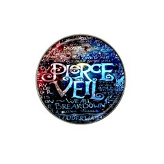 Pierce The Veil Quote Galaxy Nebula Hat Clip Ball Marker by Onesevenart