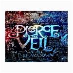 Pierce The Veil Quote Galaxy Nebula Small Glasses Cloth