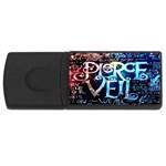 Pierce The Veil Quote Galaxy Nebula USB Flash Drive Rectangular (4 GB)